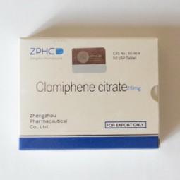 Clomiphene citrate 25 мг (ZPHC)