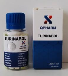 QPHARM TURINABOL 10mg/tab - ЦЕНА ЗА 100 ТАБ