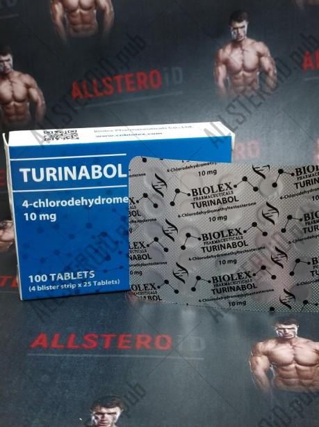 TURINABOL 10mg/tab - цена за 100 аб