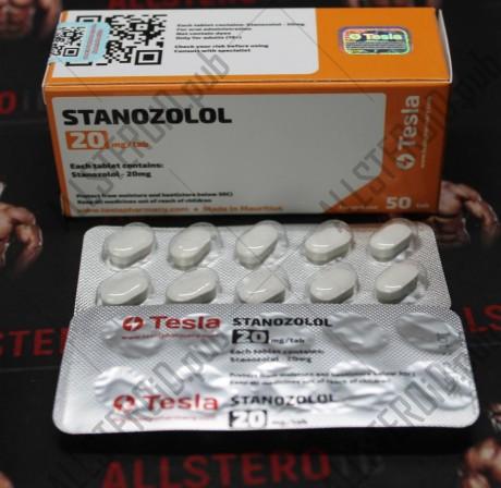 Stanozolol 20 мг, Tesla