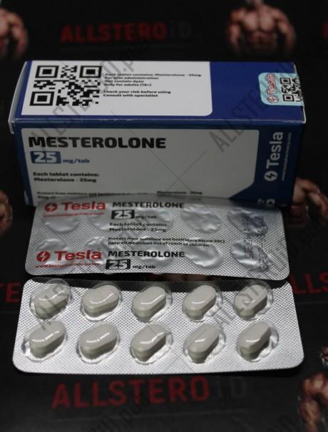 Mesterolone 25 mg (Tesla Pharmacy)